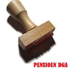 afstempelen pensioen DGA